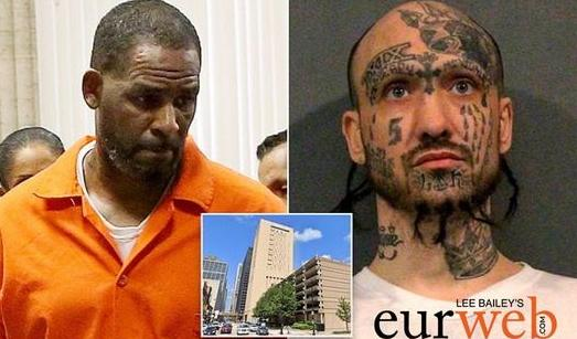 R Kelly & other inmate who beat him up & chicago metro correctional center