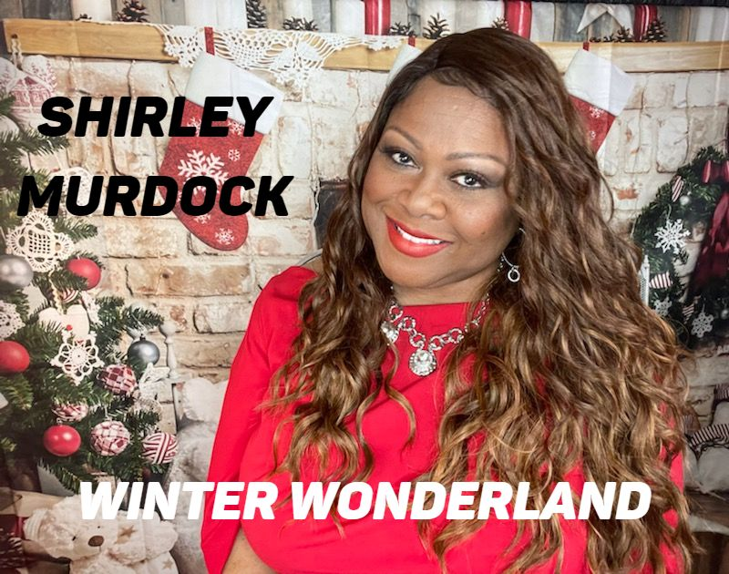 Shirley Murdock Holiday in red photo 2020 Winter Wonderland (1)