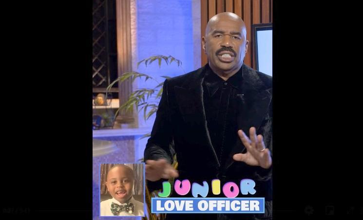 Steve Harvey & Junior Love Officer - screenshot
