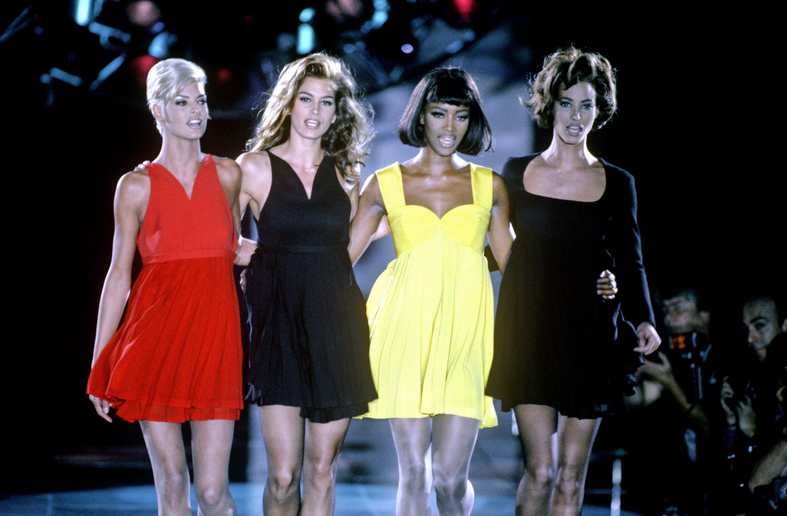 Versace Autumn Winter Fashion Show, Milan, Italy - Dec 1991