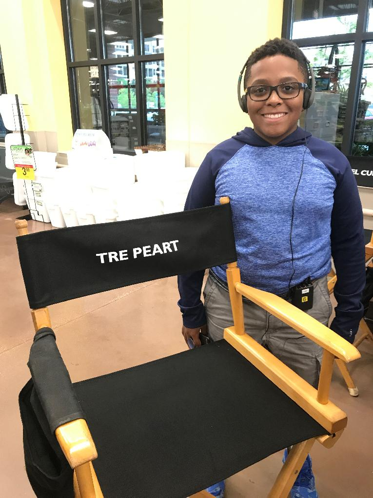 The War with Grandpa - Tre Peart & exec prod chair