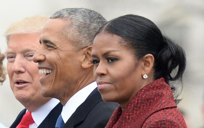 Trump Barack Michelle