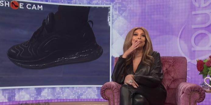 Wendy Williams - shoe cam