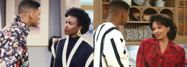 Will Smith (Fresh Prince) & Both Aunt Vivs