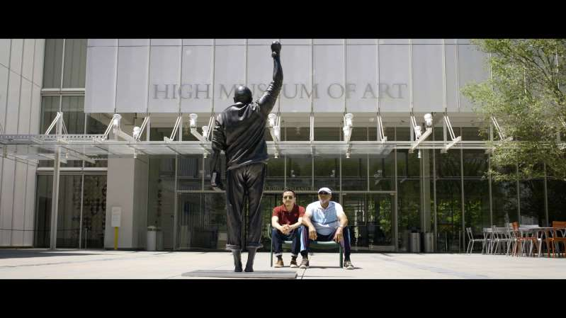 With Drawn Arms (Tommie Smith Statue)