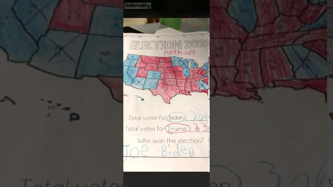 electoral map 3rd grade