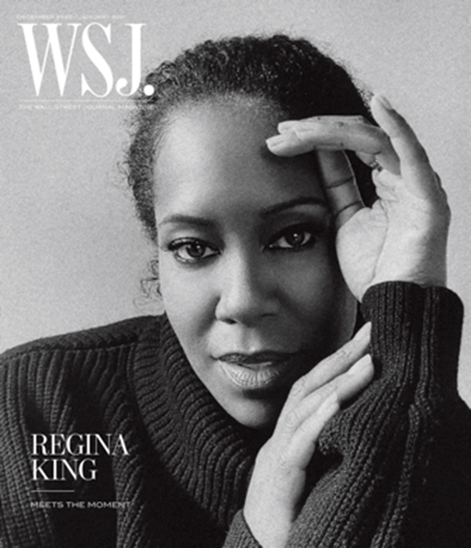 REGINA KING Covers WSJ. Magazine's Dec/Jan Issue!