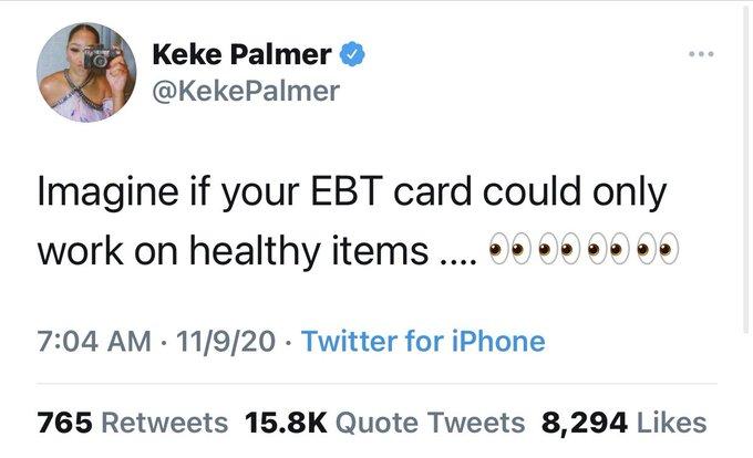 keke palmer tweet