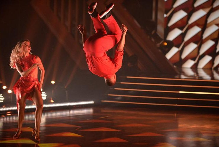 nelly backflip dwts