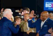Joe Biden greets Black voters in SC / Getty