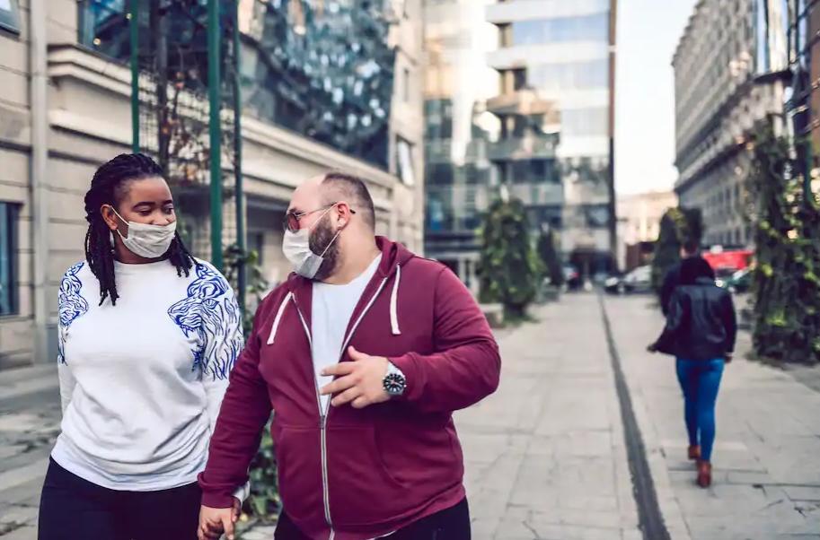 Black Female - White Male (intergrated couple - iStock)