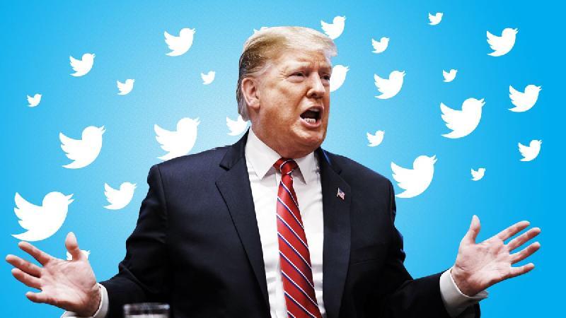 Donald Trump (twitter background)