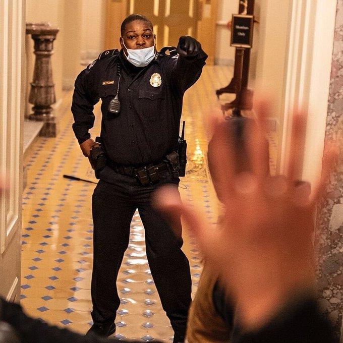 DC Officer Eugene Goodman