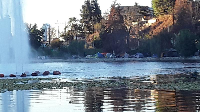 Homelessness - Echo Park Embankment