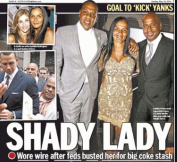 Jay Z - Desiree Perez & Husband & Shady Lady headline