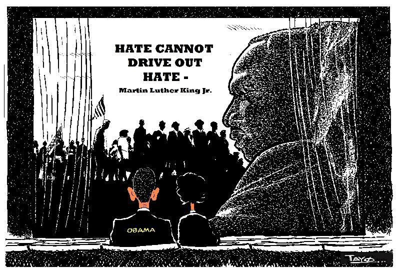 MLK DAY - Monday 18 January 2021