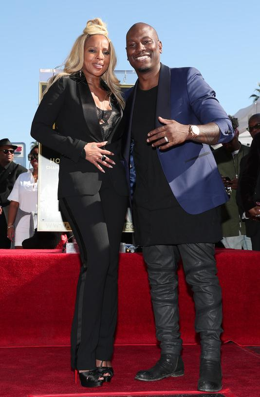 Mary J Blige & Tyrese - Getty