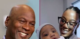 Michael Jordan & daughter & grandson (YouTube-TODAY)