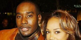 Morris Chestnut & wife Pam - Getty