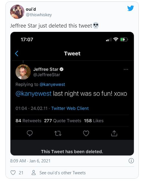 Jeffree Star/Kanye