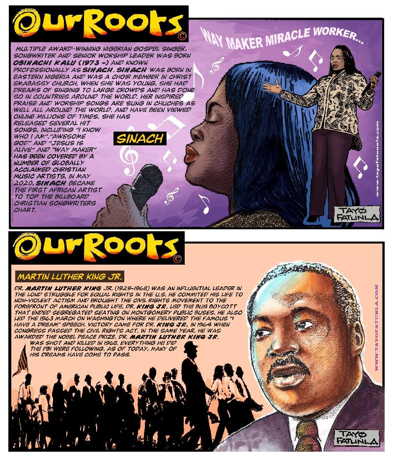 Our Roots - Sinach - MLK - EURWEB 2020