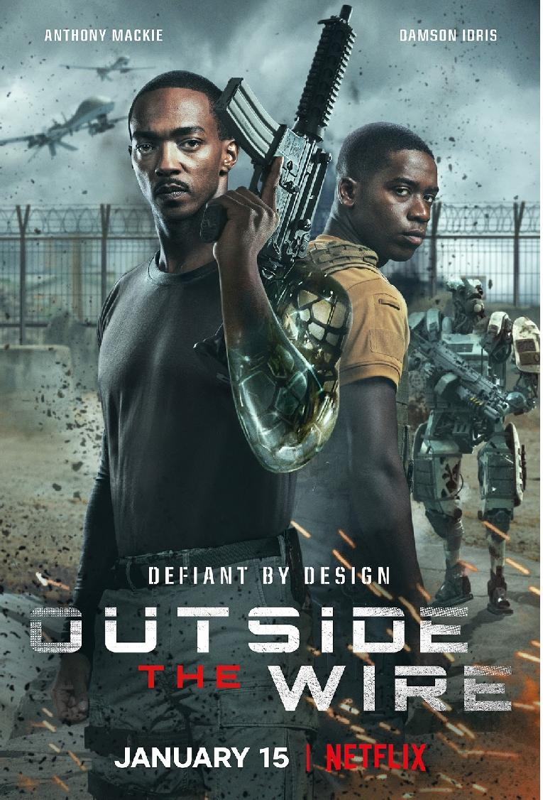 Outside the Wire - poster