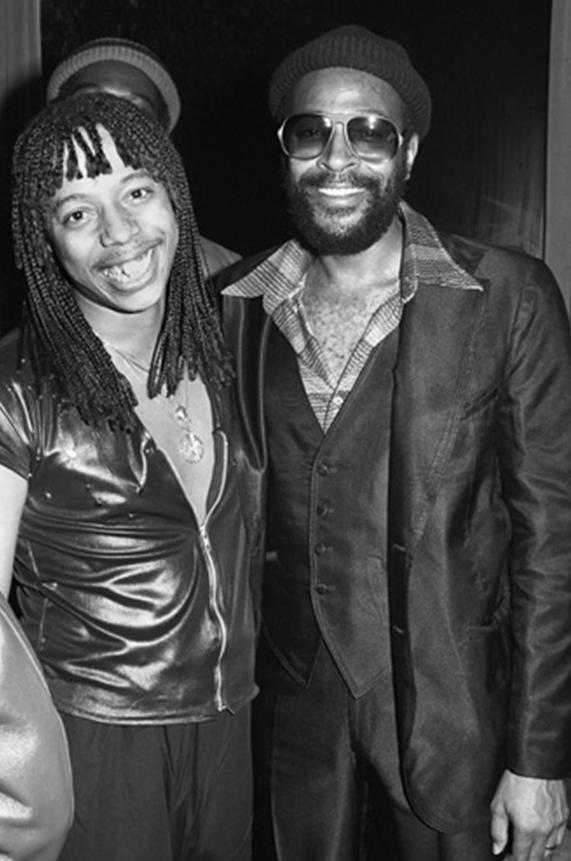 Rick James & Marvin Gaye