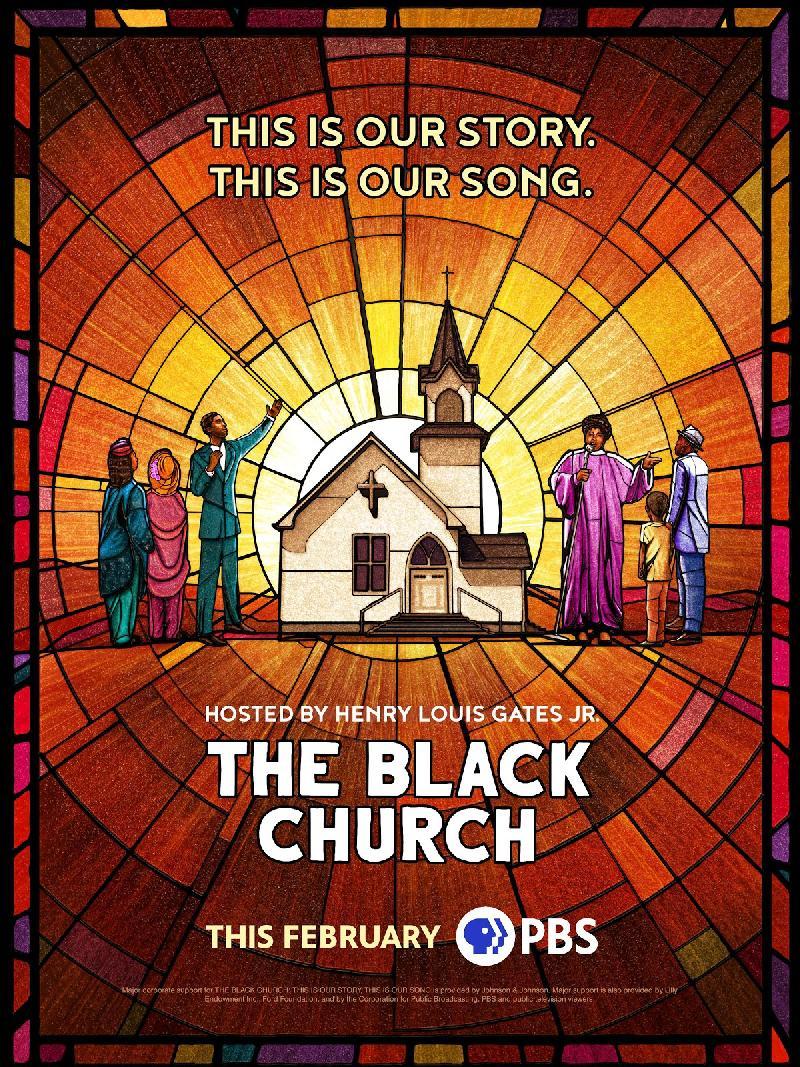 The Black C hurch - poster