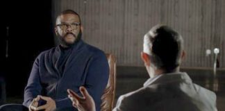 Tyler Perry and doctor for BET-Covid special1