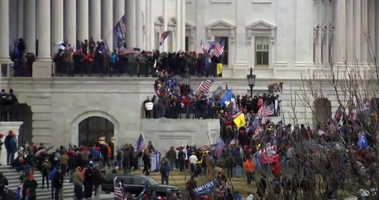 US Capitol riot - screenshot