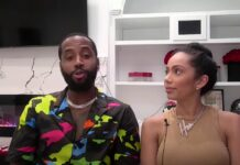 Safaree and Erica Mena