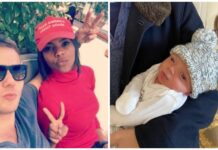 Candace Owens, husband George Farmer and their baby