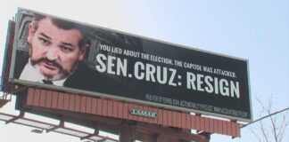 Billboard from Republican Accountability Project