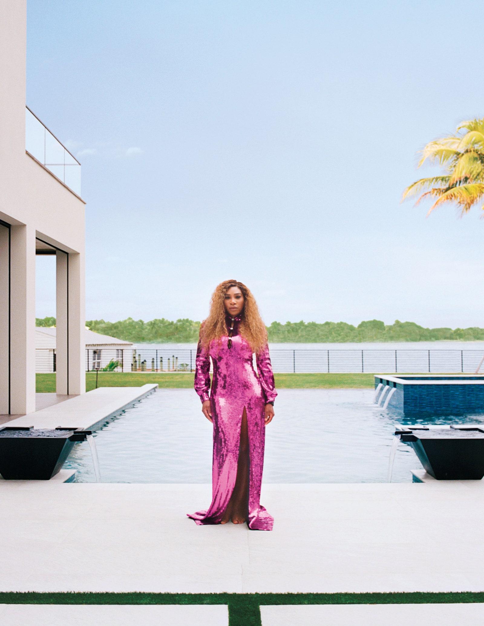 Serena Williams - Architectural Digest