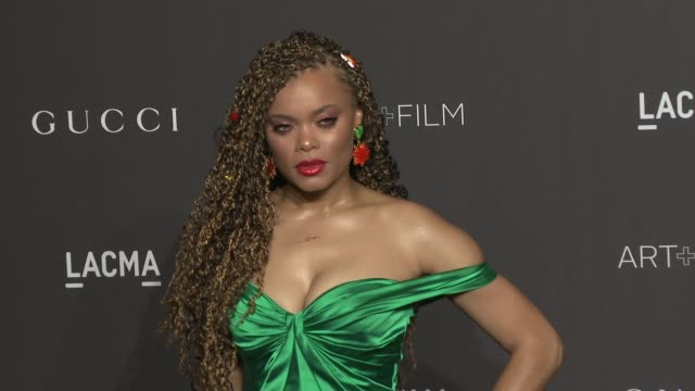 Andra Day (green gown) Getty)