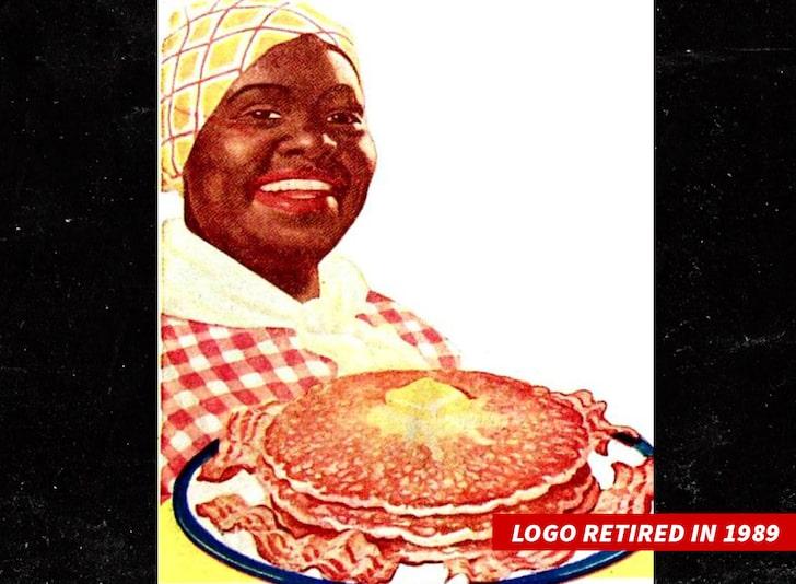 Aunt Jemima logo (retired in 1989)