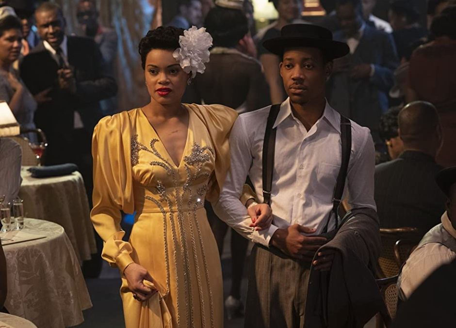 Tyler James Williams, Andra Day, THE UNITED STATES VS. BILLIE HOLIDAY