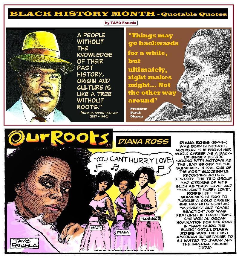 BHM Quotable quotes - Garvey - Obama - Diana Ross - EURweb