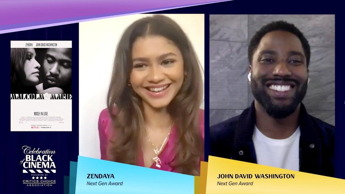 CCA - Zendaya & John David Washington