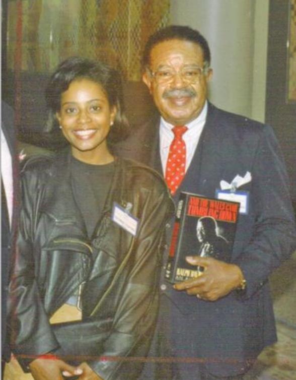 Donzaleigh Abernathy & her father Ralph David Abernathy