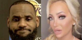 LeBron James, Courtside Karen