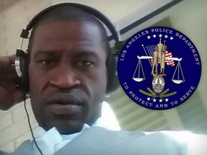 George Floyd - LAPD