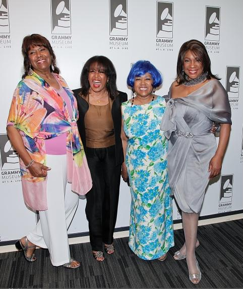 Jean Terrell, Scherrie Payne, Susaye Greene and Mary Wilson (Getty)