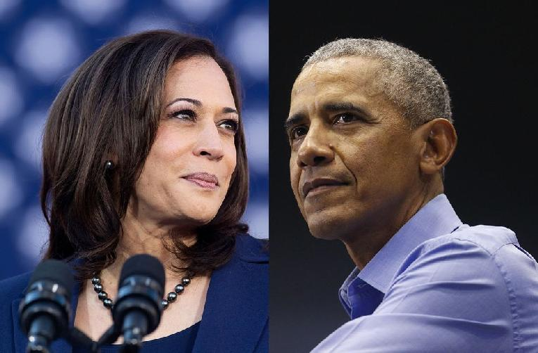 Kamala Harris & Barack Obama (Getty)