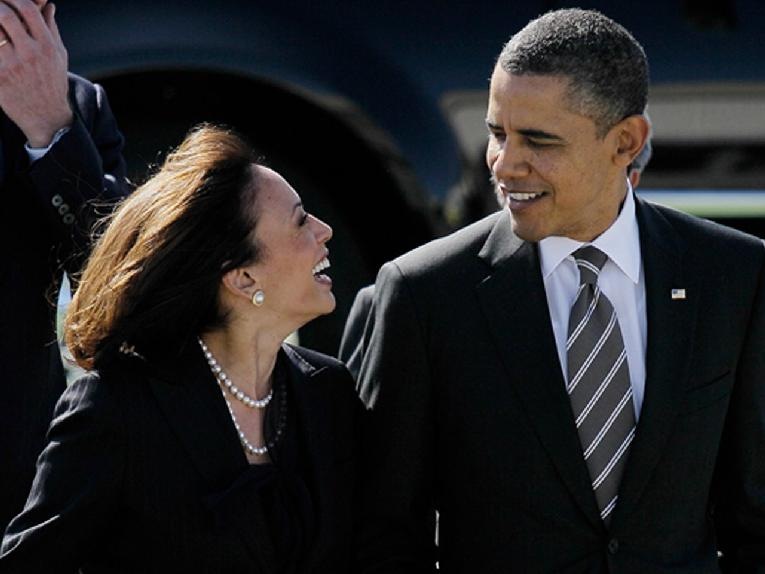 Kamala Harris - Barack Obama