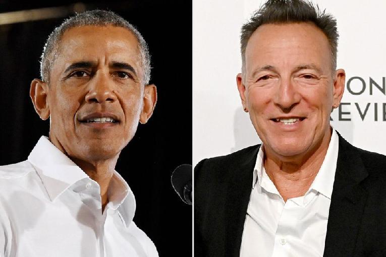 Obama - Springsteen