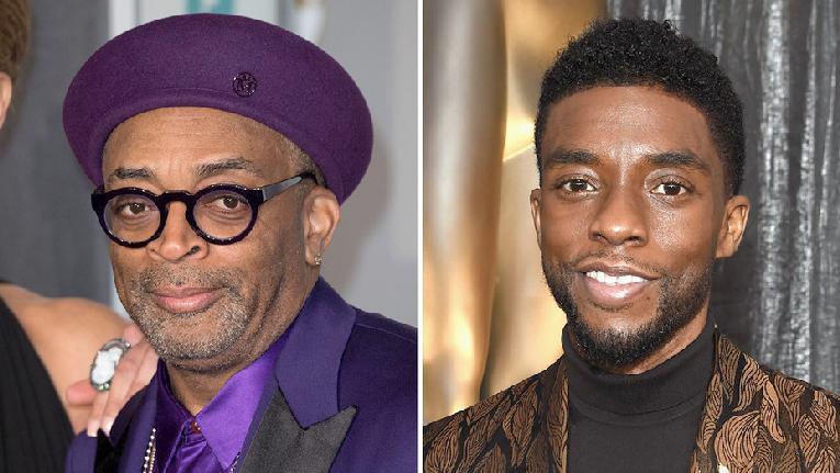 Spike Lee & Chadwick Boseman (Getty)