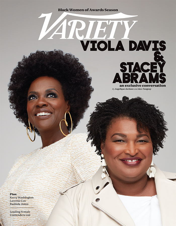 Viola Davis and Stacey Abrams
