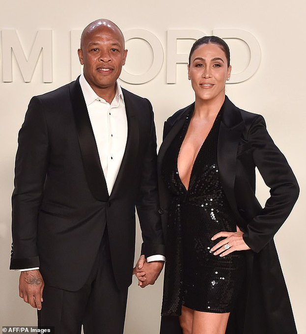 Dr. Dre, Nicole Young, Twitter