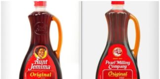 Aunt Jemima old/new